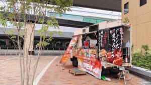 9.11(金)~13(日)出店しました!@阪神甲子園球場 駅前広場 キッチンカー 移動販売